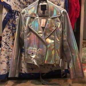 FOREVER 21 metallic jacket